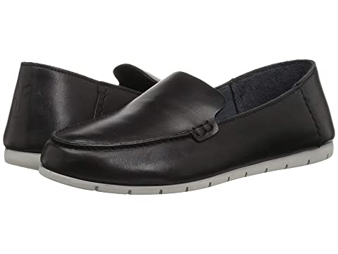 Frye Shoes , BLACK DIP-DYED LEATHER