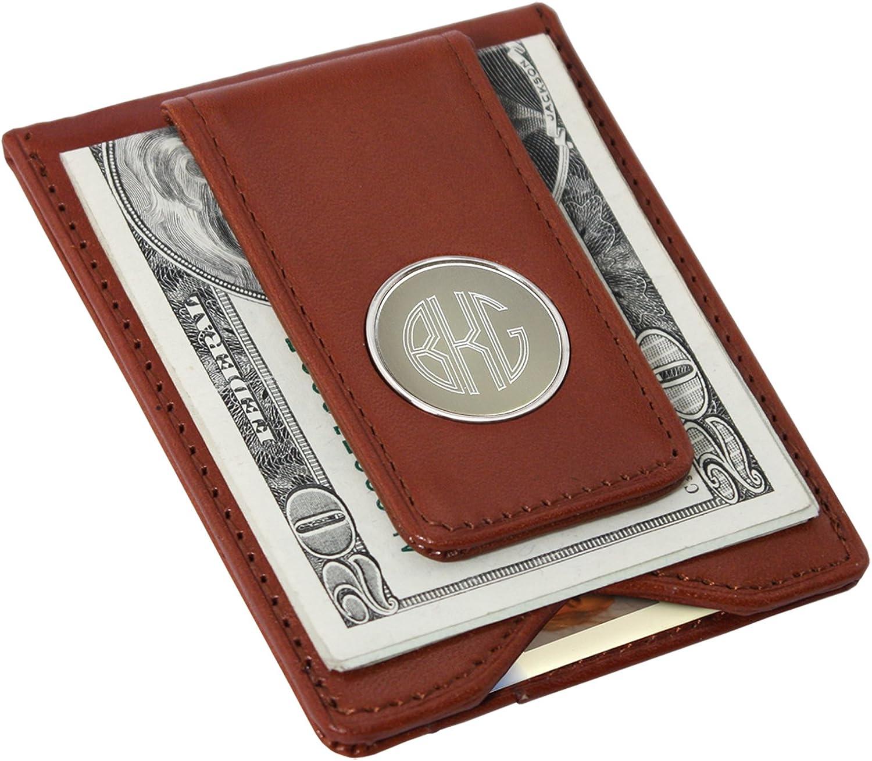 Personalized Magnetic Money Clip for Men, Custom Engraved Wedding Groomsmen Gift