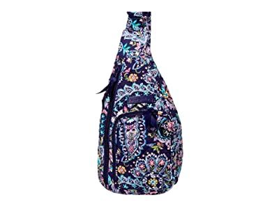 Vera Bradley Mini Sling Backpack (French Paisley) Backpack Bags