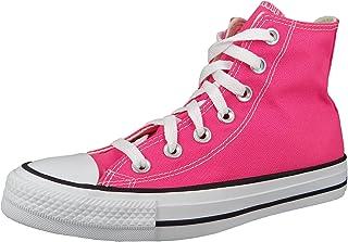 Converse CTAS Hi Chaussures DE Sport pour Femme Pink 170155C