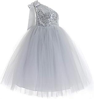 9046da08d2a4 ekidsbridal One-Shoulder Sequin Tutu Flower Girl Dress Princess Dresses  Pageant Gown 182
