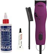 WAHL KM10 2 Speed Brushless Motor Professional Animal Clipper with a Bonus 4 oz. Clipper Oil (Multi-Colors)