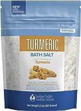 Turmeric Bath Salt 32 Ounces Epsom Salt with Natural Turmeric, Cinnamon, Ylang Ylang, Orange and Grapefruit Essential Oils...