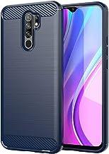 FanTing Case for Samsung Galaxy M01 Core, Anti-Slip Ultra Thin Shock Absorption Anti Scratch Protective, Cover for Samsung Galaxy M01 Core (Dark Blue)