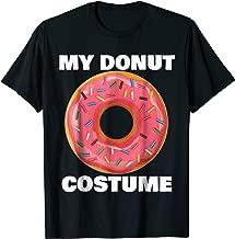 Funny Donut T-Shirt Halloween Costume Sprinkle