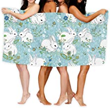 Love Bunny Rabbit Outdoors Microfiber Quick Dry Travel Towel - Ideal Fast Drying Towels for Travel, Camping, Beach, Backpa...
