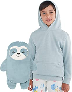 Sao The Sloth 2-in-1 Transforming Pullover Hoodie & Soft Plushie