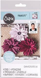 Sizzix Framelits DAHLIA Flower 4 Dies #562401