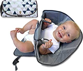 SnoofyBee Portable Clean Hands Changing Pad. 3-in-1 Diaper Clutch, Changing Station, and..
