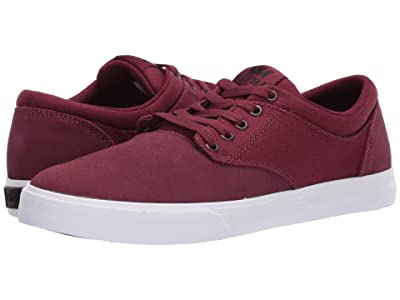 Supra Chino (Wine/White) Men