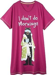Women's I Don't Do Mornings Sleepshirt