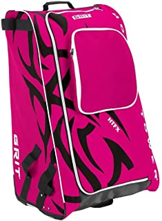 "Grit Inc HTFX Hockey Tower 33"" Wheeled Equipment Bag Fuchsia HTFX033-DI (Diva)"