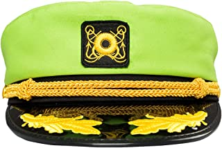 f9b931c3 Hacos Colorful Band Performance Hats Yacht Captain Pilot Cap Navy Officer Caps  Army Military Caps Sailor
