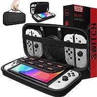 Orzly draagtas compatibel met Nintendo Switch en nieuwe Switch OLED console - zwart Beschermende harde draagbare...