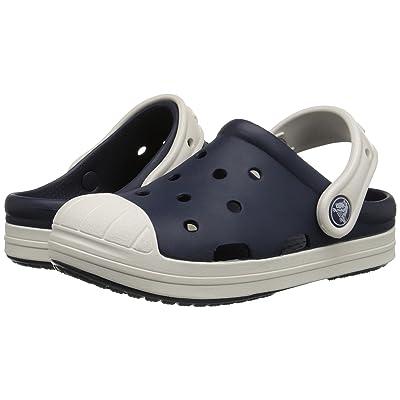 Crocs Kids Bump It Clog (Little Kid/Big Kid) (Navy/Oyster) Kids Shoes