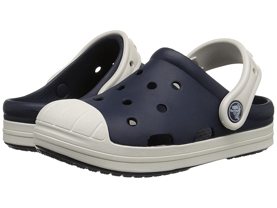 Crocs Kids Bump It Clog (Little Kid/Big Kid) (Navy/Oyster) Kids Shoes