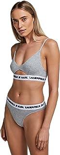 KARL LAGERFELD Logo Thong Tangas para Mujer