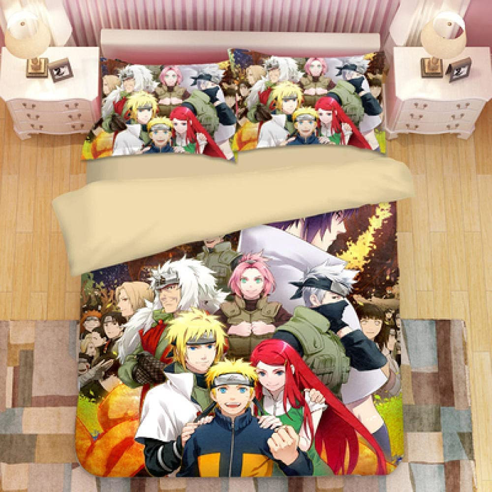 Anime Popular popular Hokage Quilt Pattern Bedding Outlet ☆ Free Shipping and Light Set is Cover