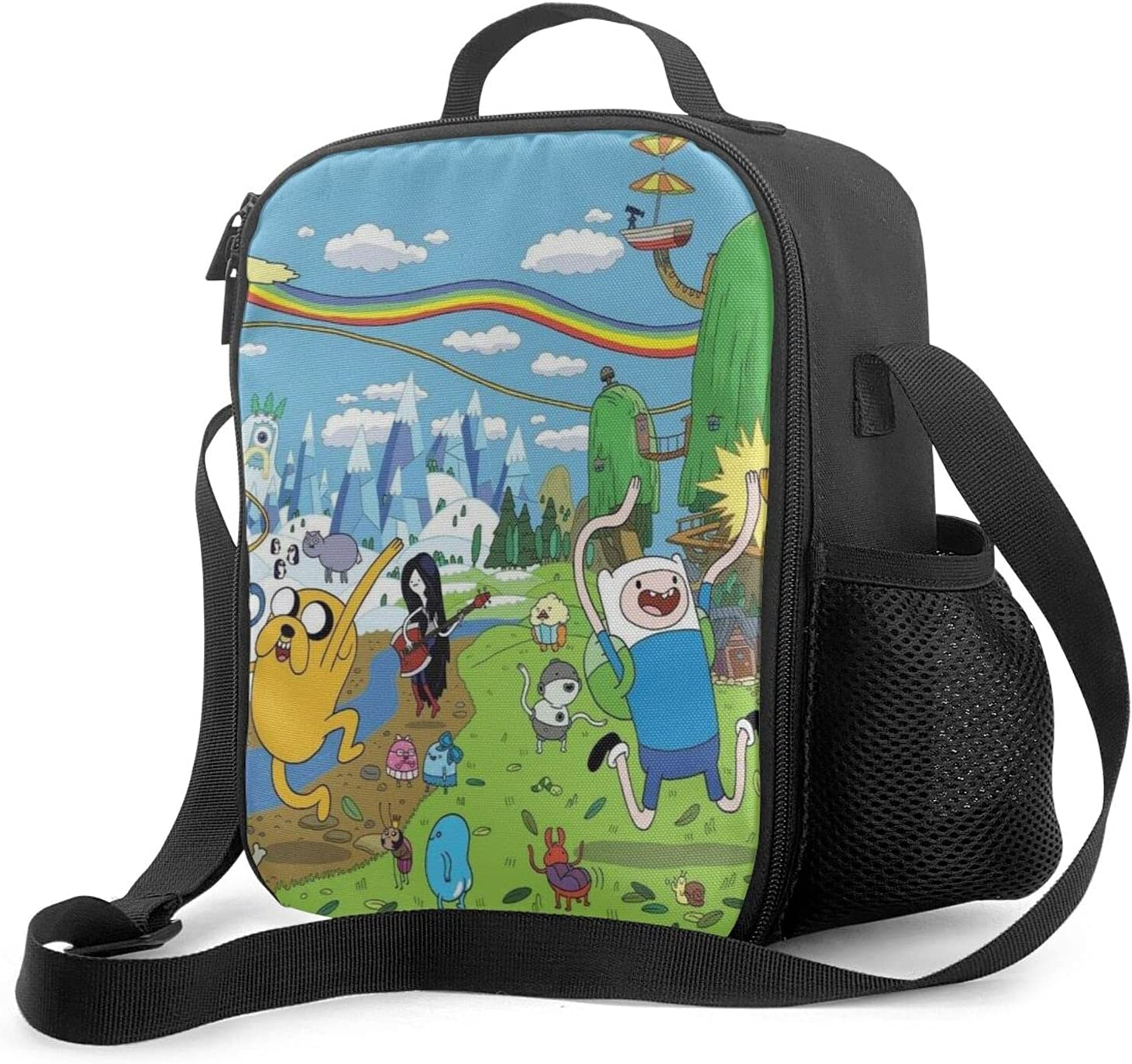 Adventure Cheap super special price Overseas parallel import regular item Time Reusable Insulated Lunch Freezable T Portable Bag