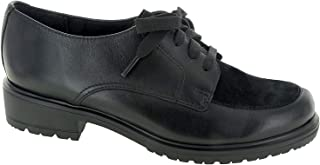 Womens Veranda, Black Leather/Suede, Size 8.0
