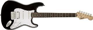 Squier by Fender エレキギター Bullet® Strat® with Tremolo HSS, Laurel Fingerboard, Black