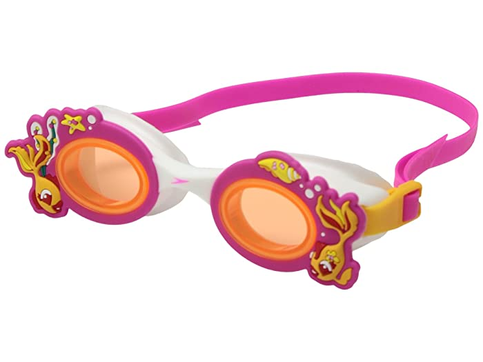 Speedo Scales Tails Goggles (Orange) Water Goggles