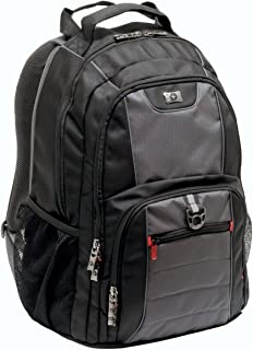 Wenger Pillar Laptop Backpack 600633, 13 Inch, Black/Gray