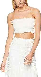 Winona Women's Zhang Linen Shirring Top