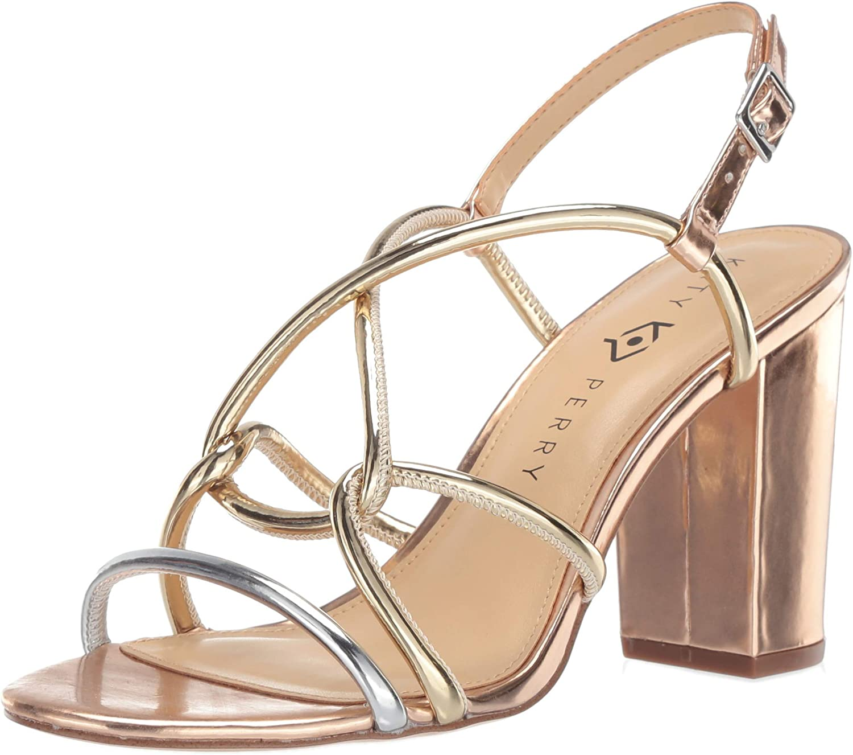 Katy Perry Womens The Kendra-Mirror Heeled Sandal
