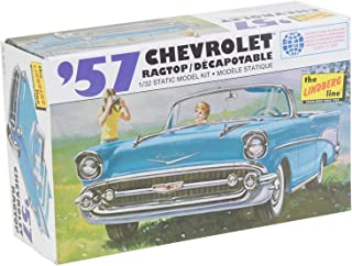 "Lindberg Modelos, Escala 1:32, ""Chevy 1957 de Trapo Top Kit Modelo"