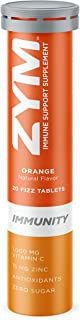 ZYM Immunity Vitamin C - Orange: Immunity Tablets Have a Crafted Blend of Vitamin C and Over 13 Vitamins, Minerals and Her...