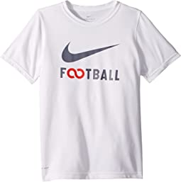 Nike Kids Dry Football T-Shirt (Little Kids/Big Kids)