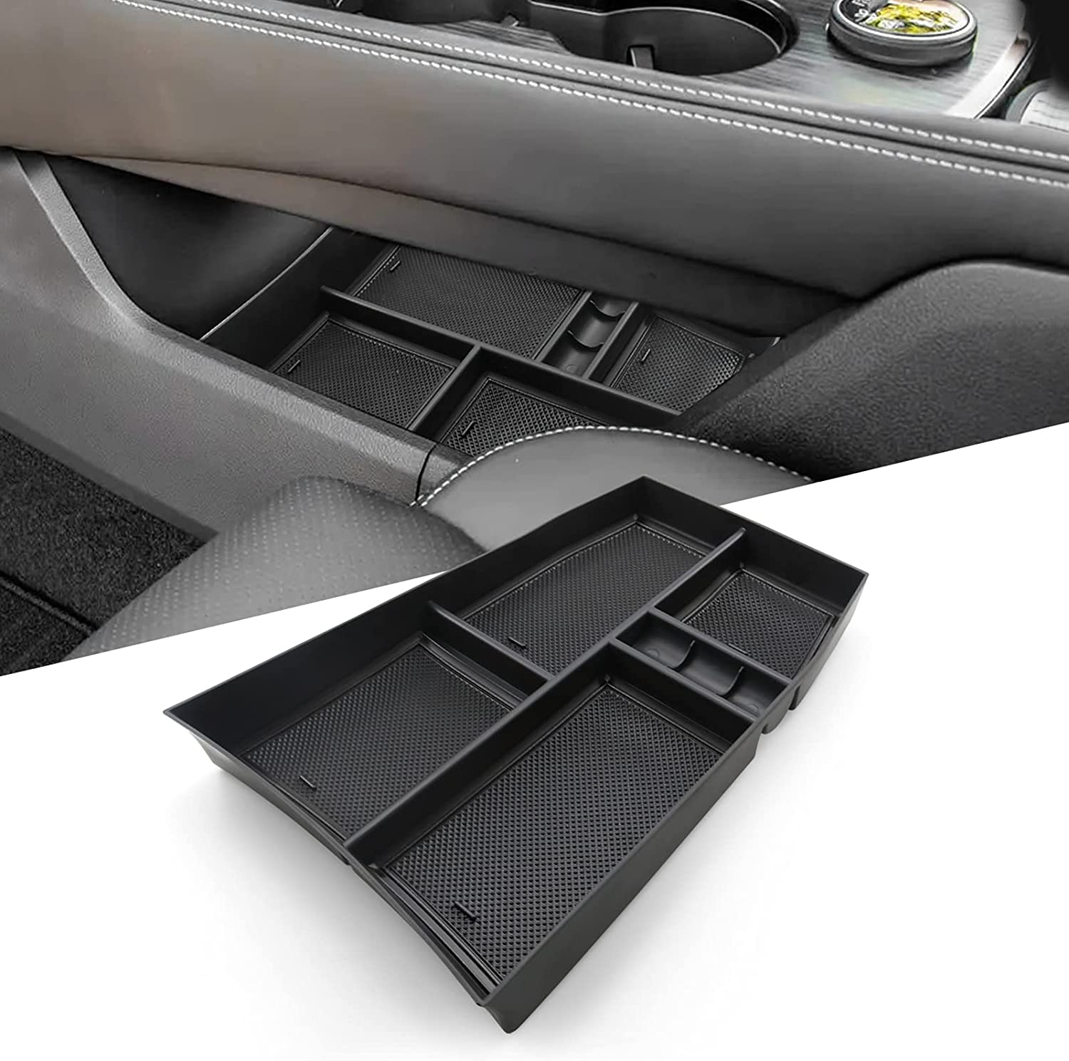 LFOTPP Center Console Organizer for 2021 Nissan Ar T33 Car Our shop most popular Free Shipping Cheap Bargain Gift Rogue