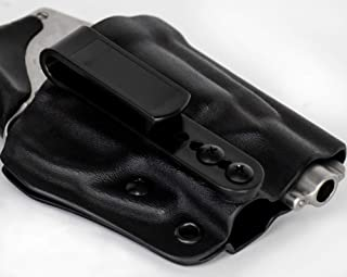 Kydex Holster S&W 442, 642, 638 Revolver AIWB Tuckable Adjustable Cant J-Frame Models