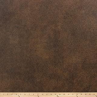 Richloom Fabrics Richloom Tough Faux Leather Tevere Chocolate