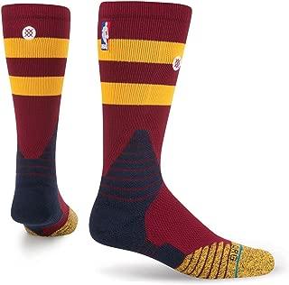 Stance Cavs Core Crew Basketball Socks - Large (9-12)