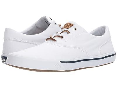 Sperry Striper II CVO Washed (White) Men