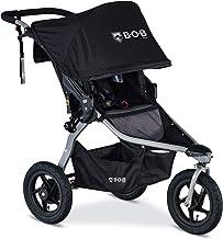 BOB Gear Rambler Jogging Stroller   Smooth Ride Suspension + Easy Fold + XL Canopy Coverage, Black [New Logo]