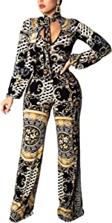 Women's Sexy Jumpsuits Elegant Long Sleeve Long Pants...