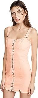 For Love & Lemons Women's Monika Hook Front Mini Dress