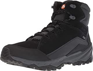 حذاء رجالي مضاد للماء من Merrell ICEPACK MID Polar، أسود، 9 M US