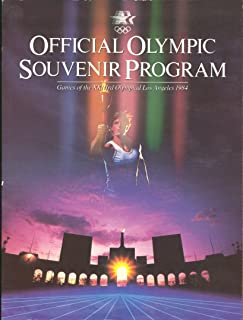Official Olympic souvenir program: Games of the XXIIIrd Olympiad, Los Angeles, 1984