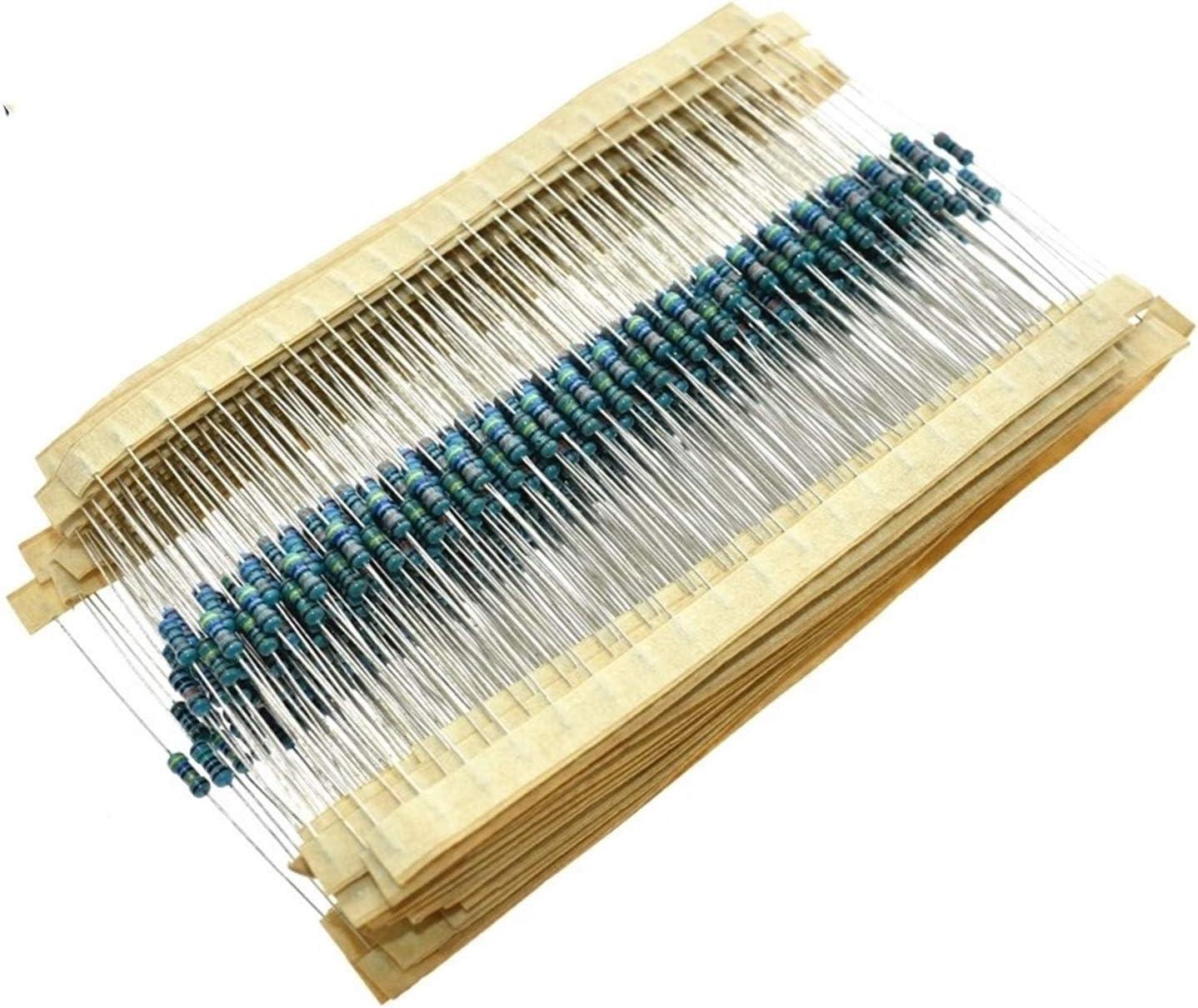 LUBINGMY Resistor 300 600 PCS Set 1 1% Kinds 4W Ea 30 Resistance Very popular Max 78% OFF