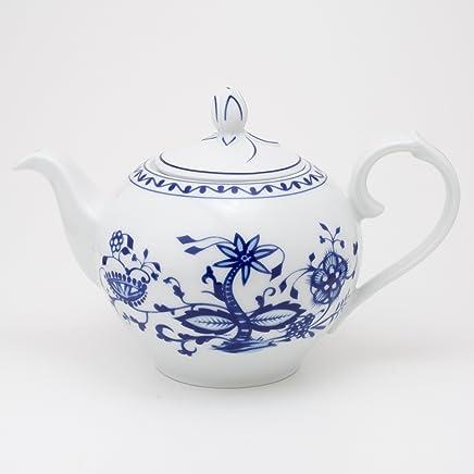Preisvergleich für KAHLA Rossella Teekanne 1,20 l Zwiebelmuster (mit kleinen Schönheitsfehlern)