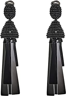 Oscar de la Renta - Opaque Tassel C Earrings