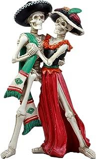 Ebros Large Day of The Dead Wedding Dance Skeleton Couple Figurine Dias De Los Muertos Lovers Sculpture 12