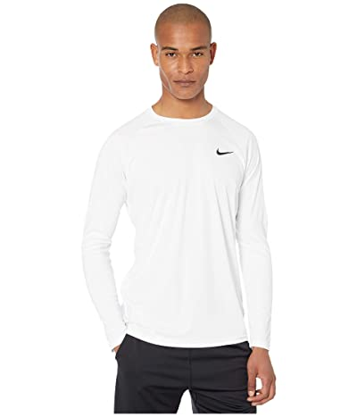 Nike Essential Long Sleeve Hydroguard (White) Men