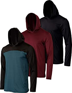 3 Pack: Boys Girls Youth Teen Dry Fit Long Sleeve Active...