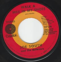 45vinylrecord Walk A Mile In My Shoes/Shelter (7