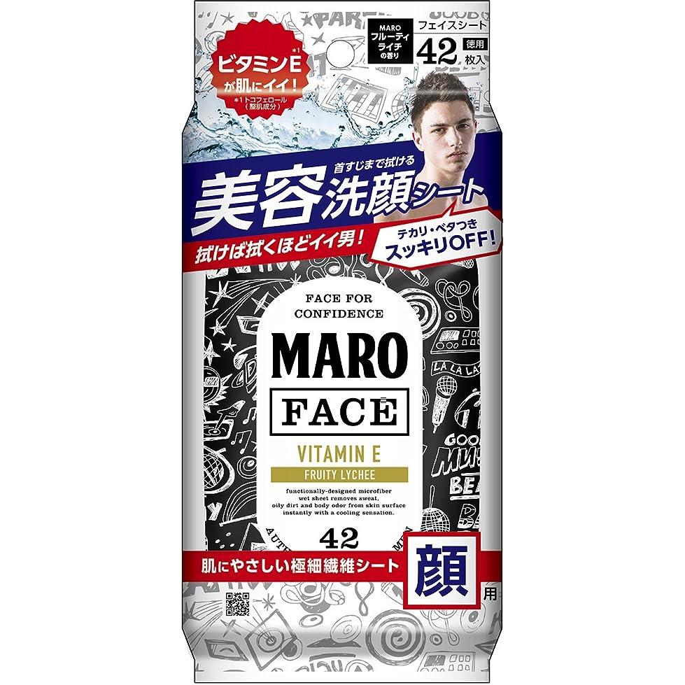 段階脈拍見分けるMARO デザイン フェイスシート グラフィティ 42枚